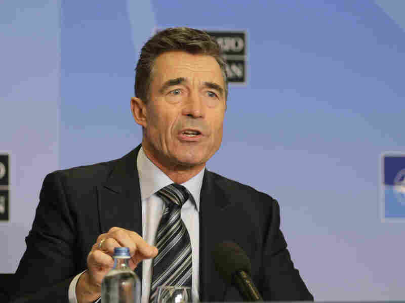 NATO Secretary General Anders Fogh Rasmussen on Monday.