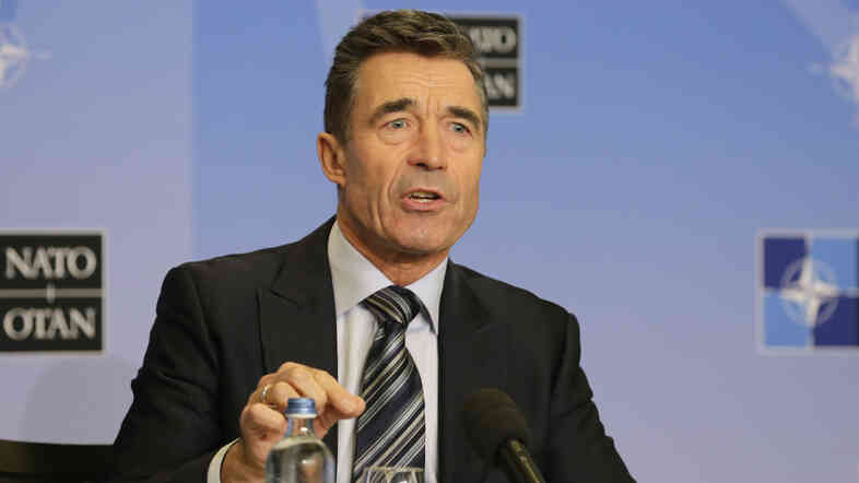 NATO Secretary General Anders Fogh Rasmussen on Monday.