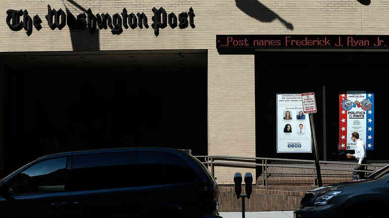 The Washington Post announced Tuesday that Frederick J. Ryan Jr. would take over as publisher.