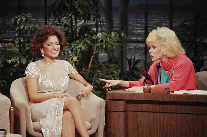 Rivers became permanent guest host for The Tonight Show in 1983, a gig that ended when she left to host her own late-night show on Fox. Here she interviews Miss America Suzette Charles in 1984.