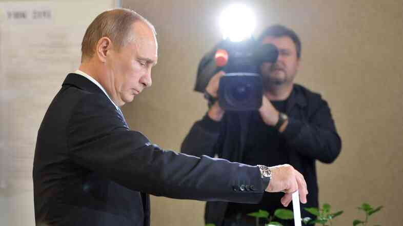 Russian President Vladimir Putin in 2013.