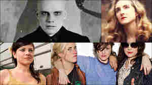 Clockwise from upper left: Billy Corgan of The Smashing Pumpkins, Alaina Moore of Tennis, Gemma Ray, Ex Hex, Orenda Fink.