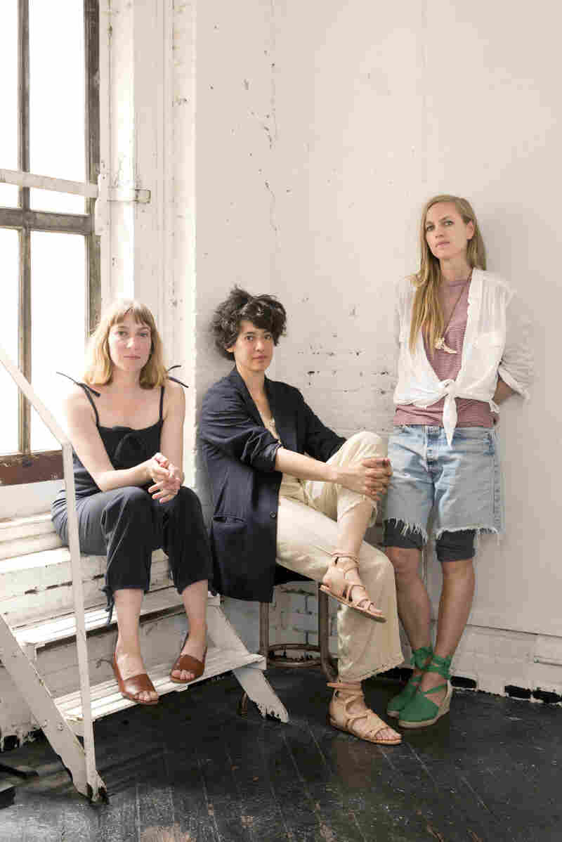 Sheila Heti (from left), Leanne Shapton and Heidi Julavits started working on Women in Clothes after Heti experienced a kind of fashion awakening.