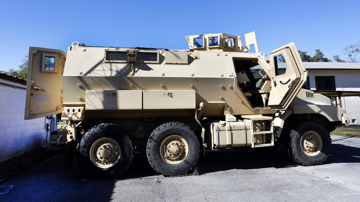 Should Local Police Get The Military S Extra Armored