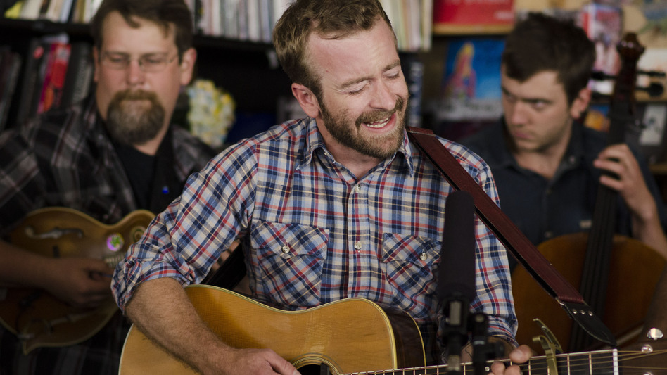 Tiny Desk Concert with Trampled by Turtles on July 16, 2014. (NPR)