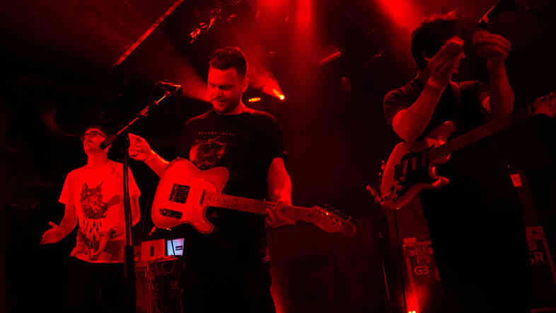 alt-J performed songs from This Is All Yours, live at (Le) Poisson Rouge in New York on Sept. 2.