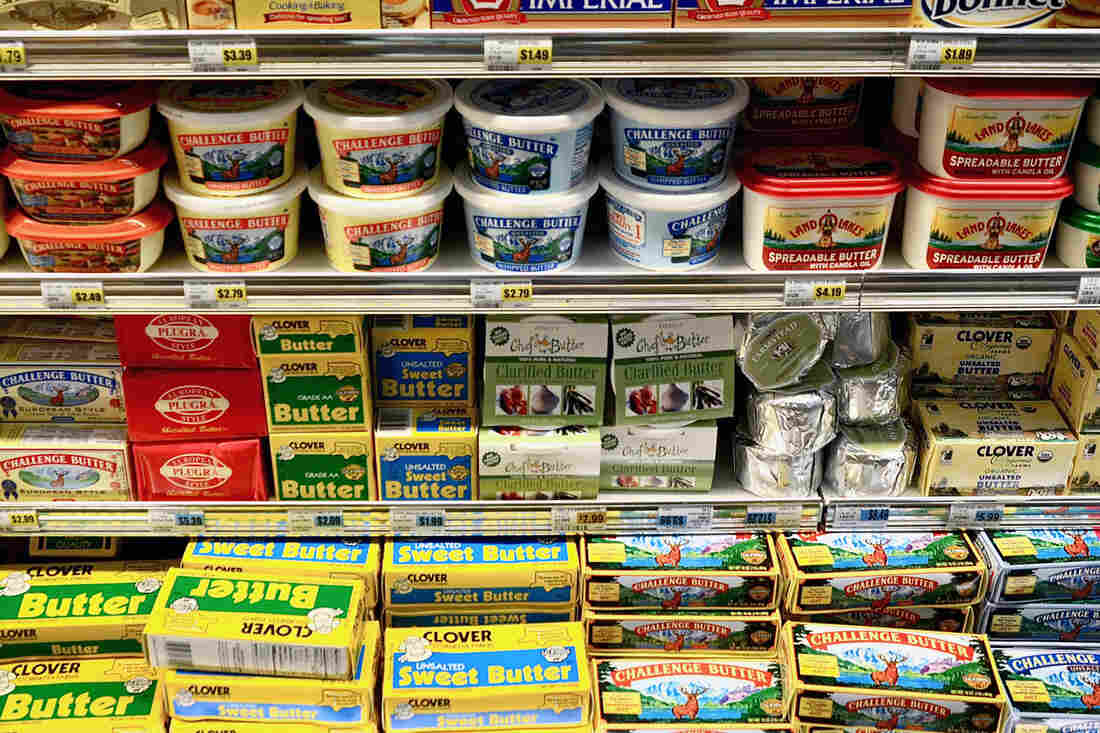 It looks like we've got plenty of butter, it's just a little pricey right now.
