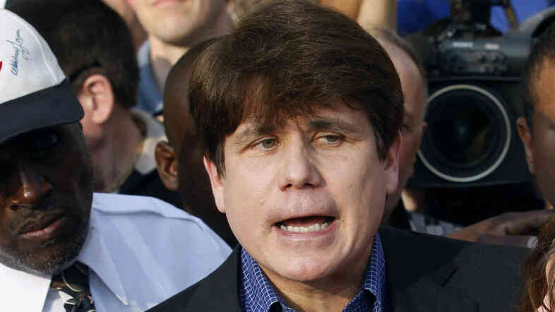 Former Illinois Gov. Rod Blagojevich