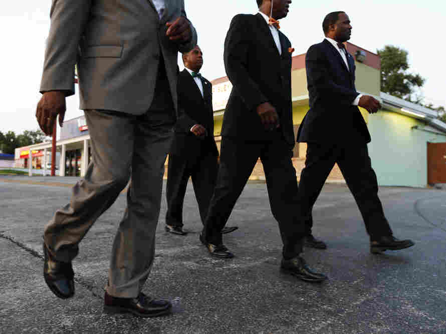 Members of the Nation of Islam were a constant presence on the streets of Ferguson, and helped quash testy exchanges between protesters and the police.