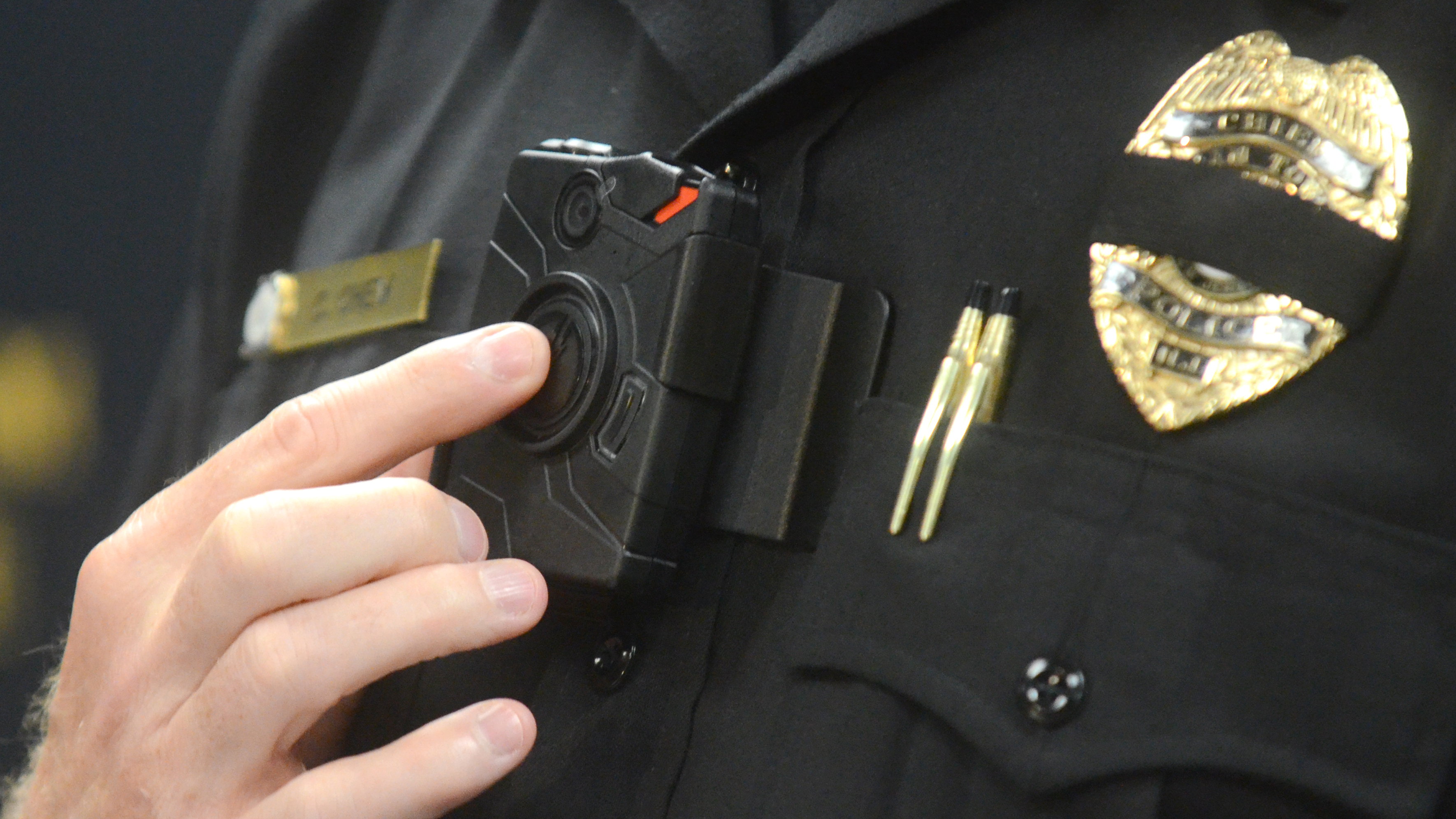 new technology police body worn cameras essay Police body cameras: 5 facts about the technology asu professor predicts video cameras on police uniforms, glasses or hats will become norm.