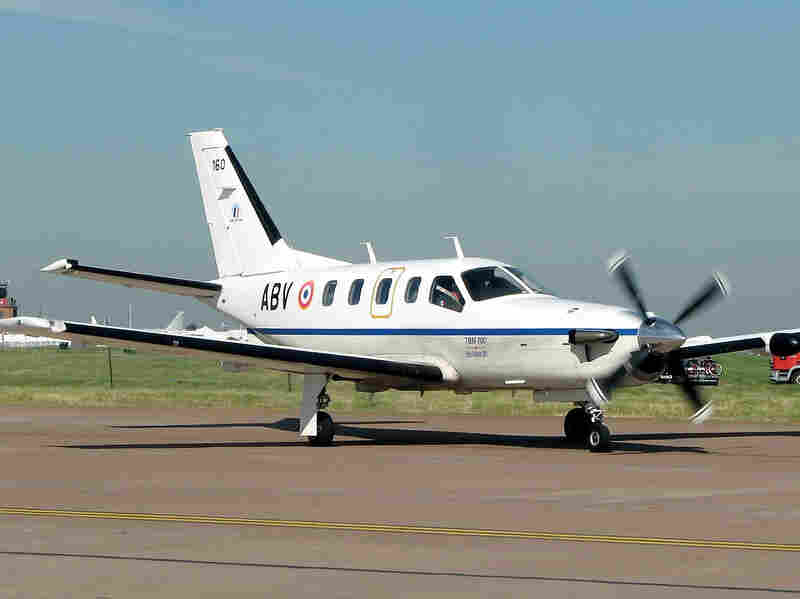 NORAD identified the plane that crashed off the coast of Jamaica, after flying for several hours with an unresponsive pilot at the helm, as a Socata TBM-700, similar to this one.