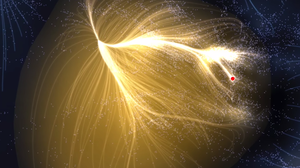 The Laniakea supercluster.