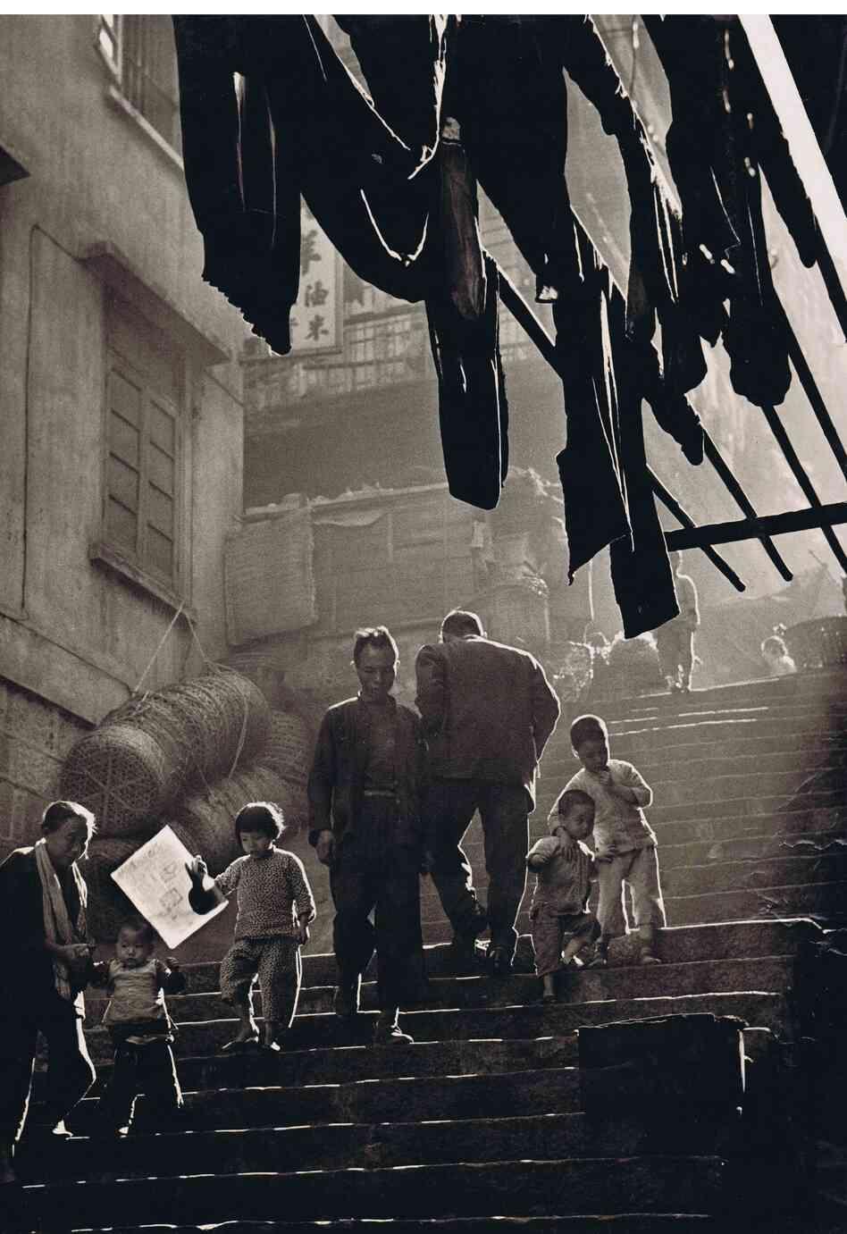 Ho Fan; Street Scene, 1957.