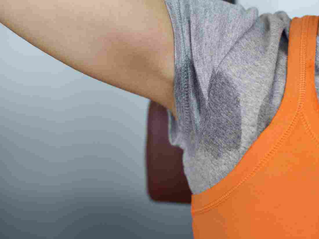 The bacteria that stink up polyester shirts are different from the bacteria that stink up armpits.