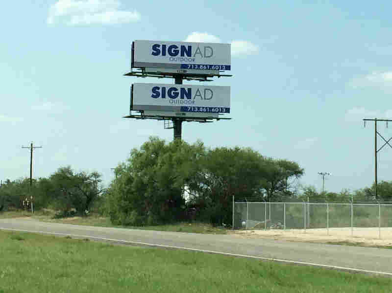 More than 350 towns and cities in Texas have banned new billboards, but billboards companies are still pressing for new and taller signs.