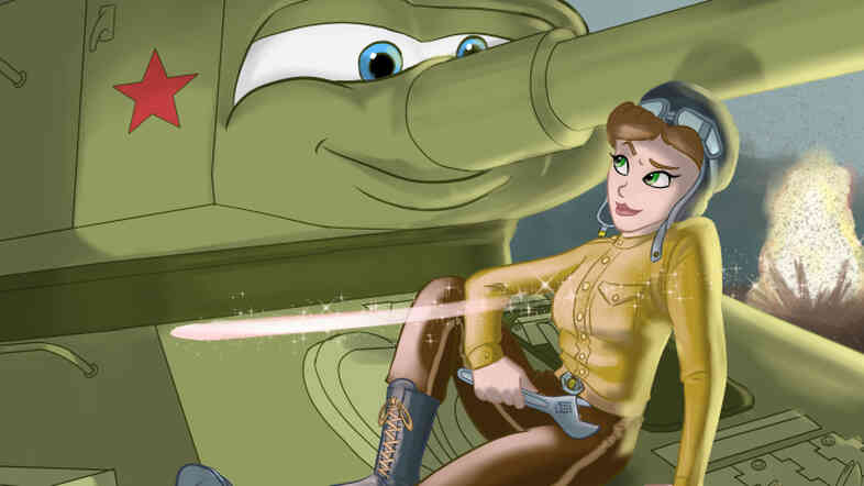 Sergeant Mariya Oktyabrskaya is one of the women featured on Jason Porath's blog Rejected Princesses. Oktyabrskaya was the first female tanker to ever win the Hero of the Soviet Union award.