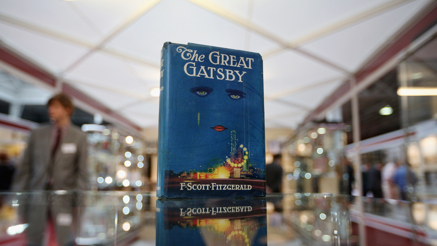 How 'Gatsby' Went From A Moldering Flop To A Great American Novel : NPR
