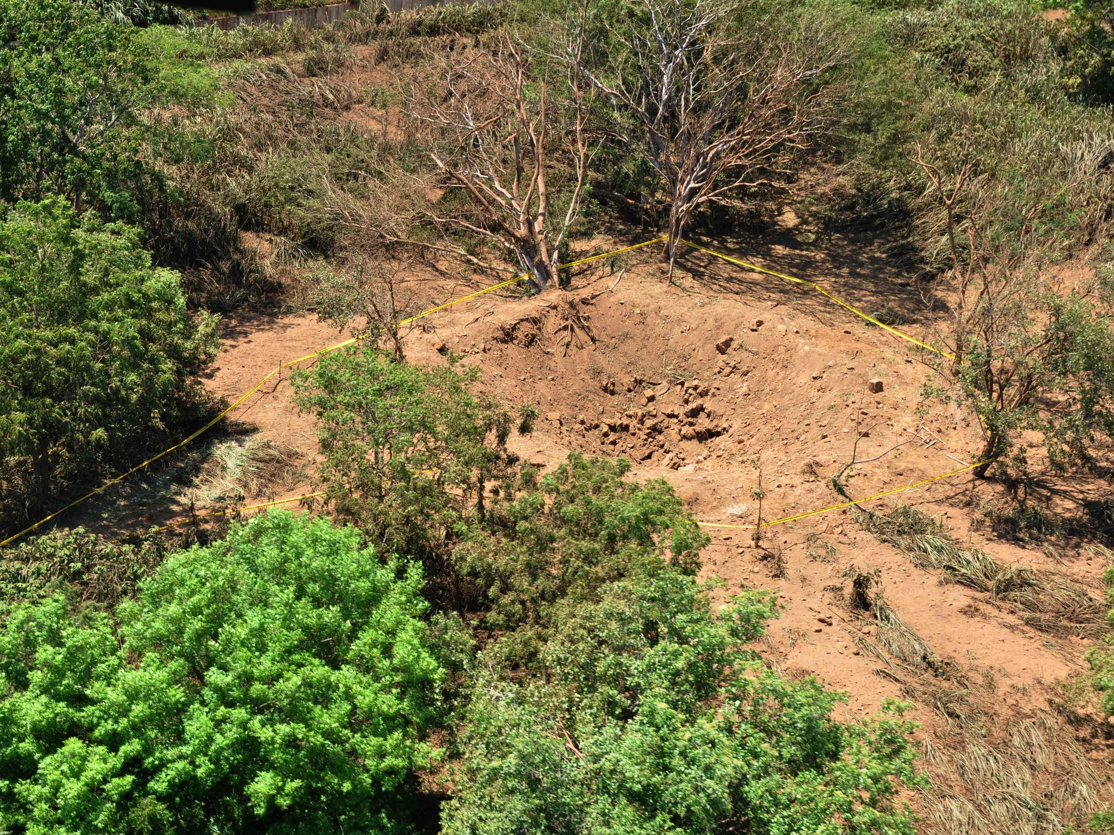 Meteor Leaves 40-Foot Crater Near Managua's Airport