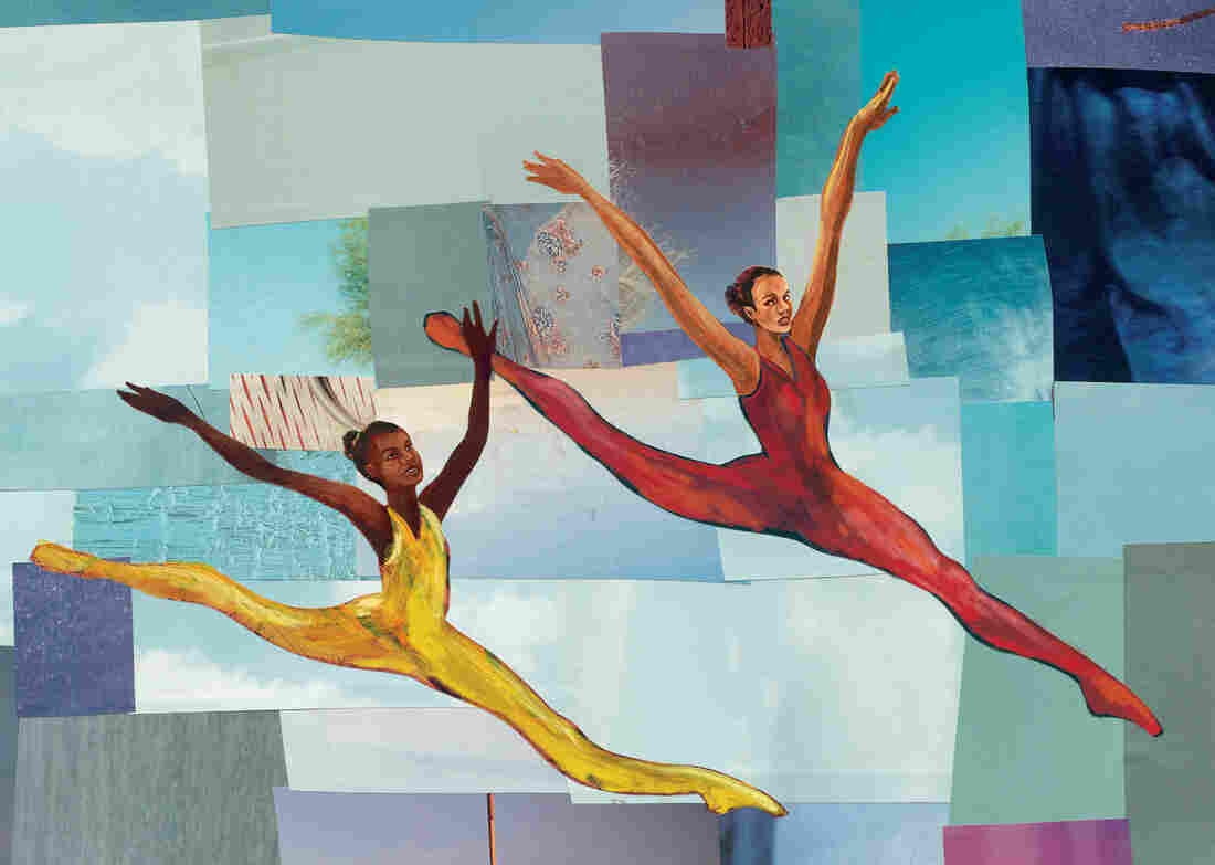 """In her new children's book, Firebird, Misty Copeland encourages a young dancer to have faith in herself. """"You will soar, become a swan, a beauty, a firebird for sure,"""" she writes. The tale is illustrated by Christopher Myers."""