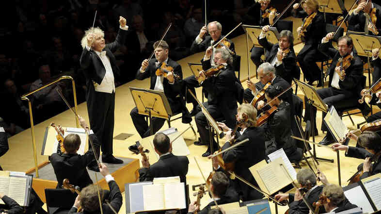 Simon Rattle takes the Berlin Philharmonic to Carnegie Hall Oct. 1.