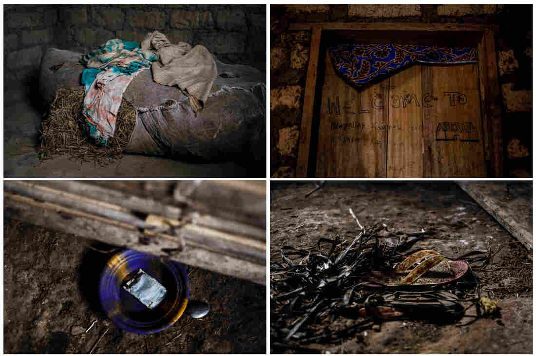 In Barkedu, the rooms of those who succumbed to Ebola often remain untouched after their death.