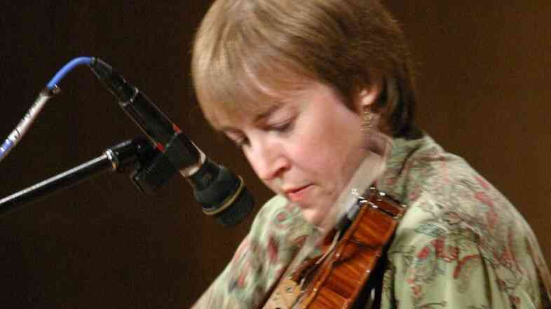 All-Ireland fiddle champion and National Heritage Award winner Liz Carroll.