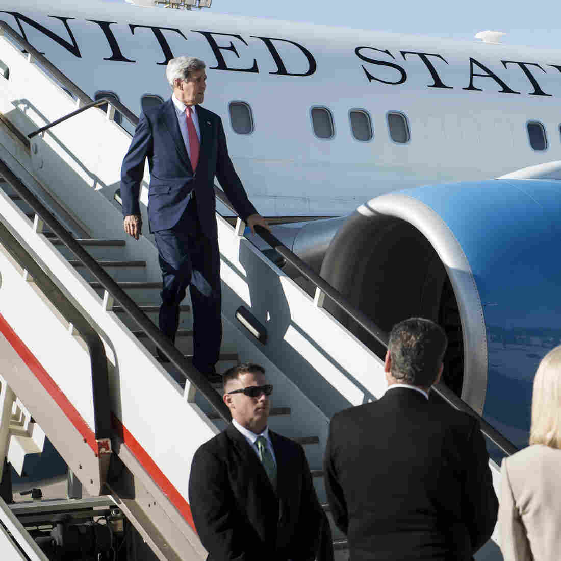 Kerry Seeks Iraq's Support On Move Against Islamic State