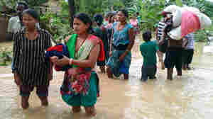 Nepal Struggles To Help Villages Washed Away In Floods