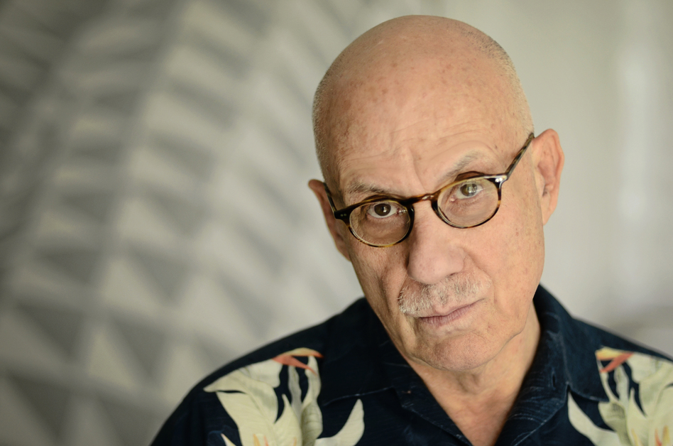 James Ellroy lives in Los Angeles, which serves as the setting for much of his work.