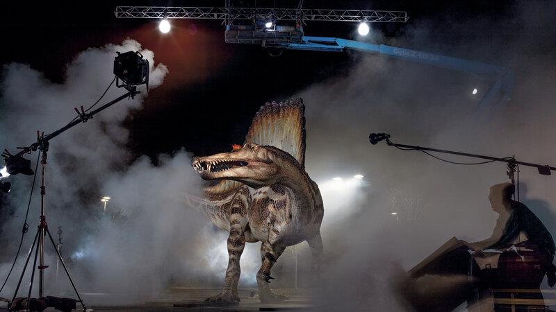 Crocodile Meets Godzilla — A Swimming Dino Bigger Than T  Rex : NPR