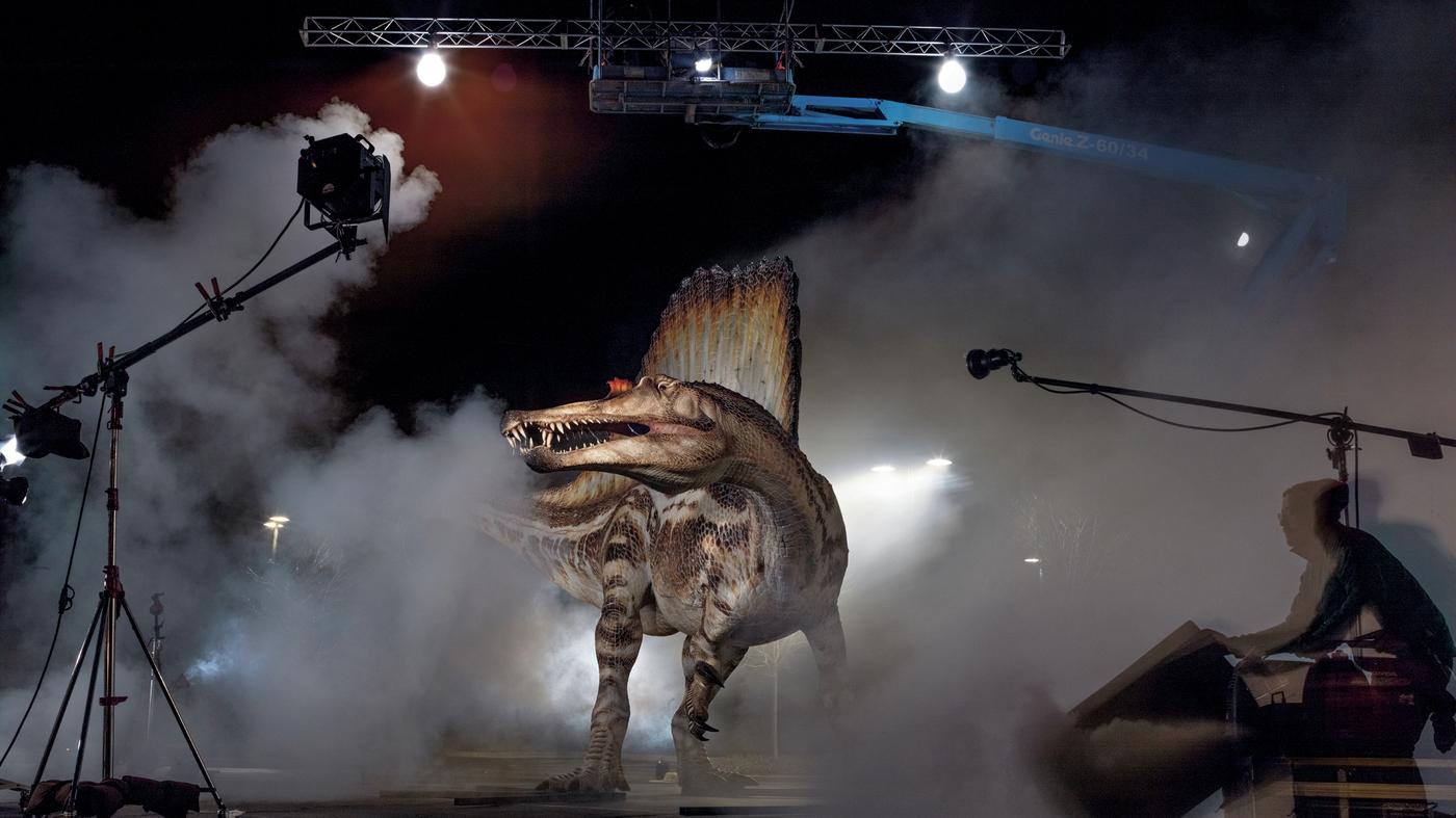 Crocodile Meets Godzilla — A Swimming Dino Bigger Than T