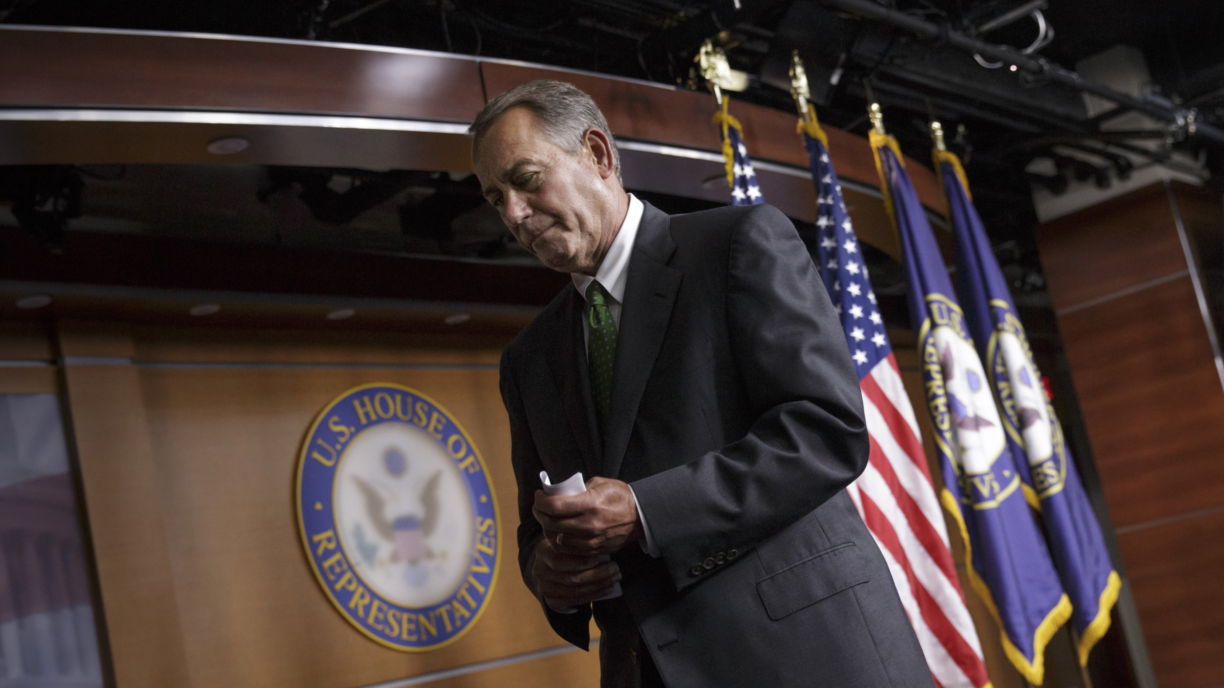 Expanding ISIS Fight Scrambles GOP Plan To Extend Budget And Get Out