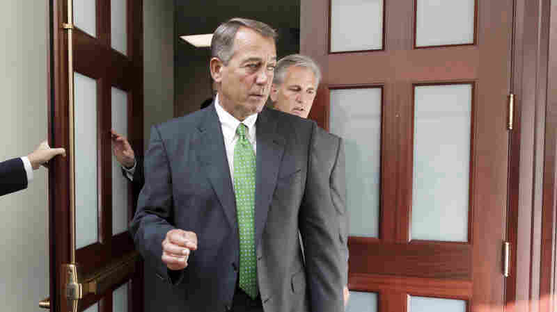 Boehner: House GOP 'Ready To Work With The President'