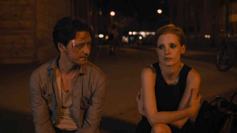 James McAvoy and Jessica Chastain star in The Disappearance of Eleanor Rigby Him, Her and Them.
