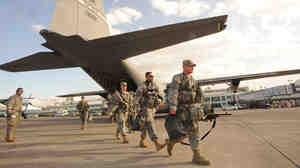 US soldiers have intervened in during natural disasters such as the 2010 earthquake in Haiti. But a disease outbreak is more complicated.