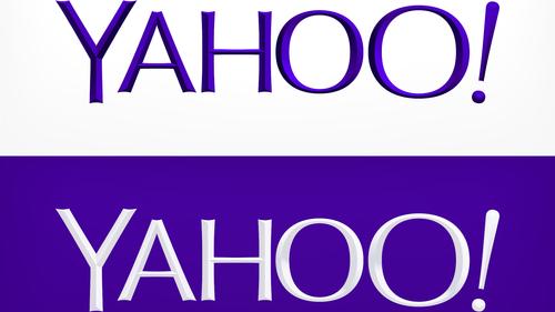 Yahoo's new logo.