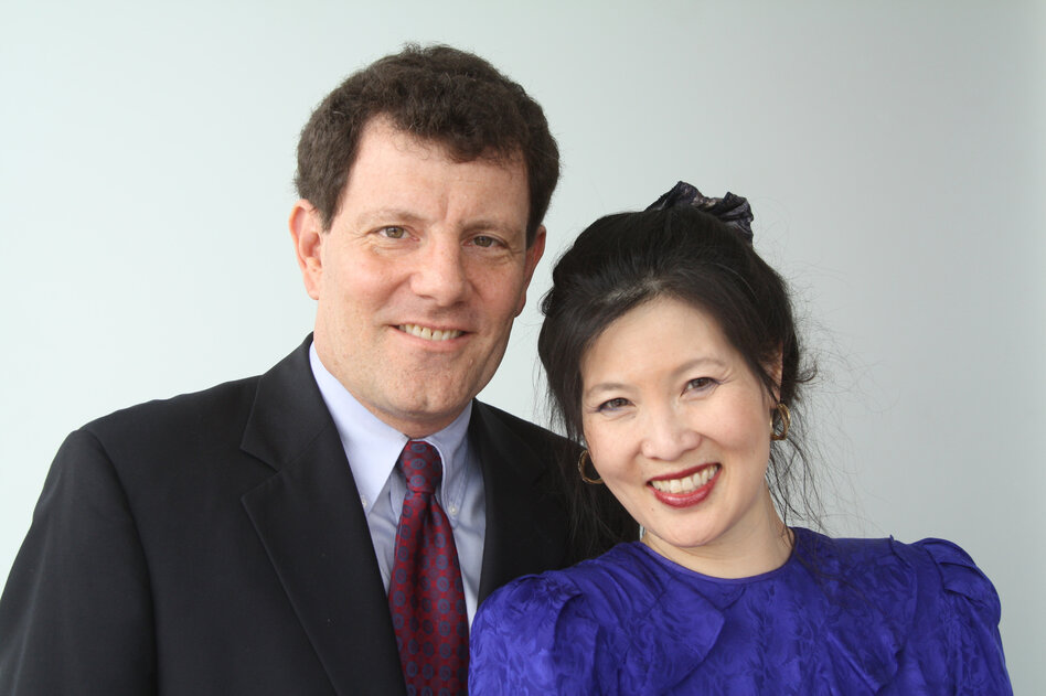 Nicholas D. Kristof and Sheryl WuDunn have also co-authored Half the Sky, Thunder from the East and China Wakes.