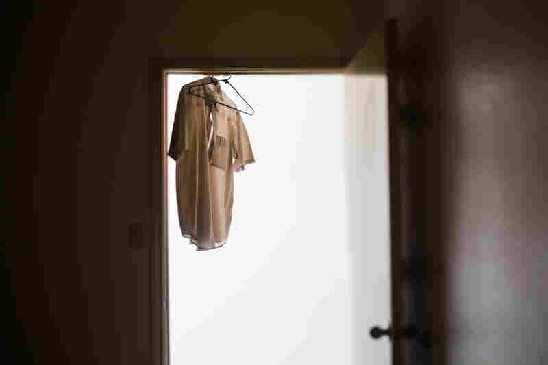 Minto's shirt still hangs in the doorway of a former surgery room at the clinic. Minto continues to work as a physician — these days as a family care practitioner in the Rio Grande Valley.