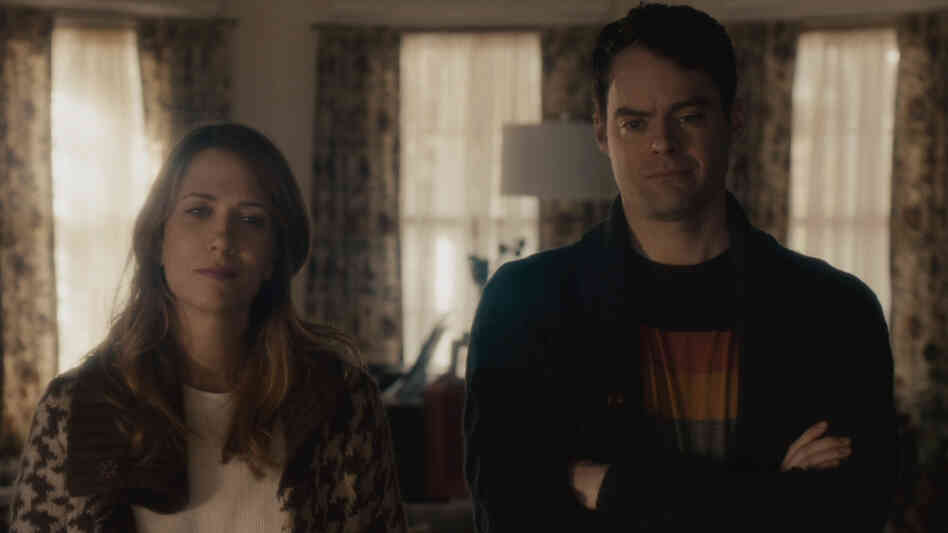 In The Skeleton Twins, Kristen Wiig and Bill Hader play estranged twins.
