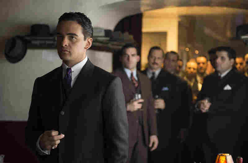 Vincent Piazza plays Lucky Luciano on the show about rival gangsters, corrupt politicians and federal agents in the 1920s and '30s.