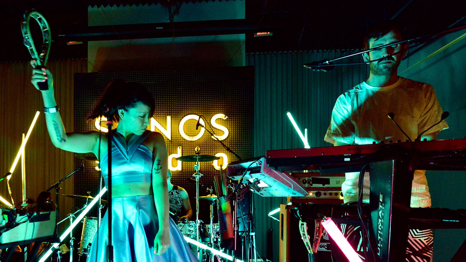Little Dragon performs at KCRW's taping of Morning Becomes Eclectic on August 25. (Getty Images for Sonos)