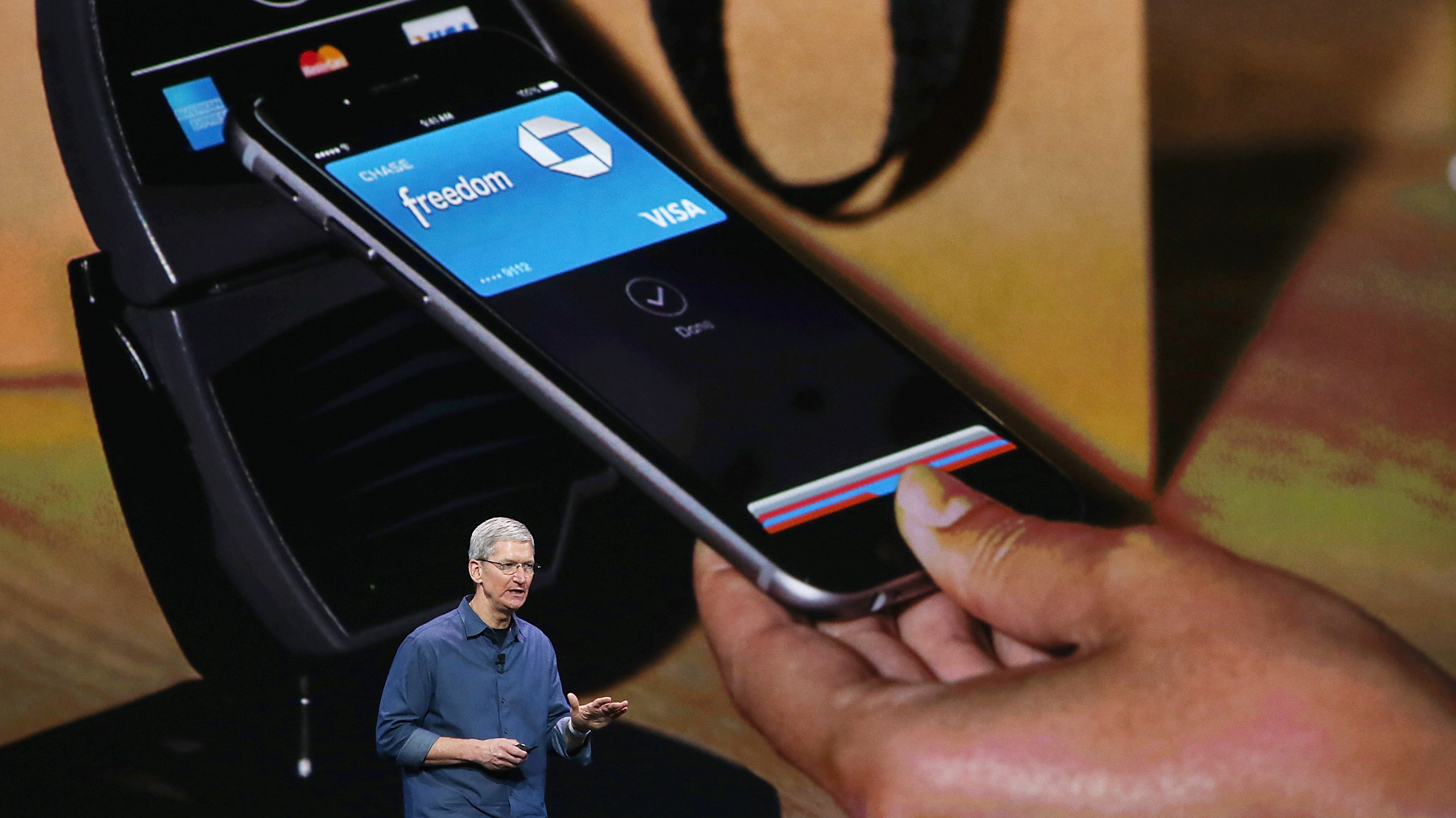 Apple Takes A Swipe At The Credit Card