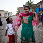 """""""I want to grow up and become a police. But I need to study in a good school for that. I want to become a police to protect the country."""" - Fiza, 13 (India)"""