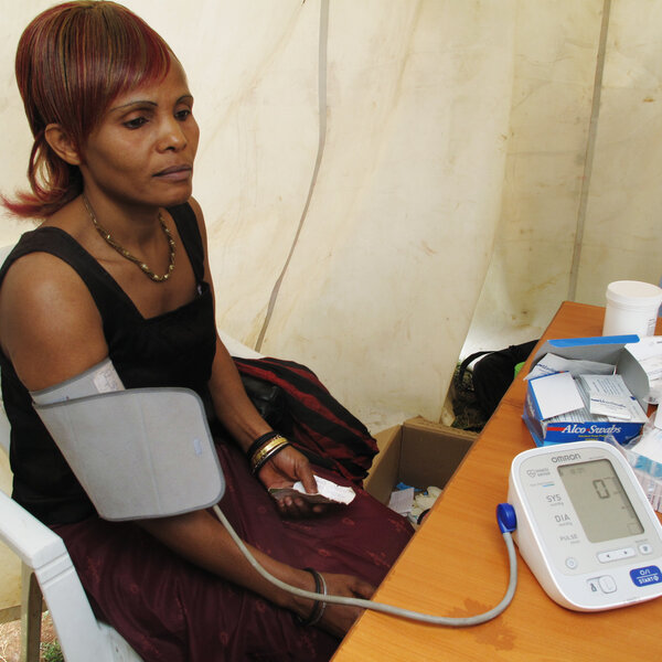 Africans Are Introduced To The Blood Pressure Cuff