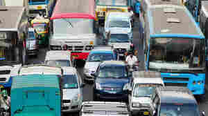 Make Way For Ambulances: They're Stuck In Bangalore Traffic