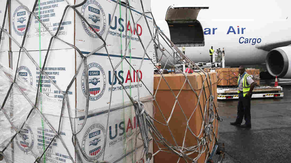 The U.S. is providing supplies to combat Ebola. But people are needed as well.
