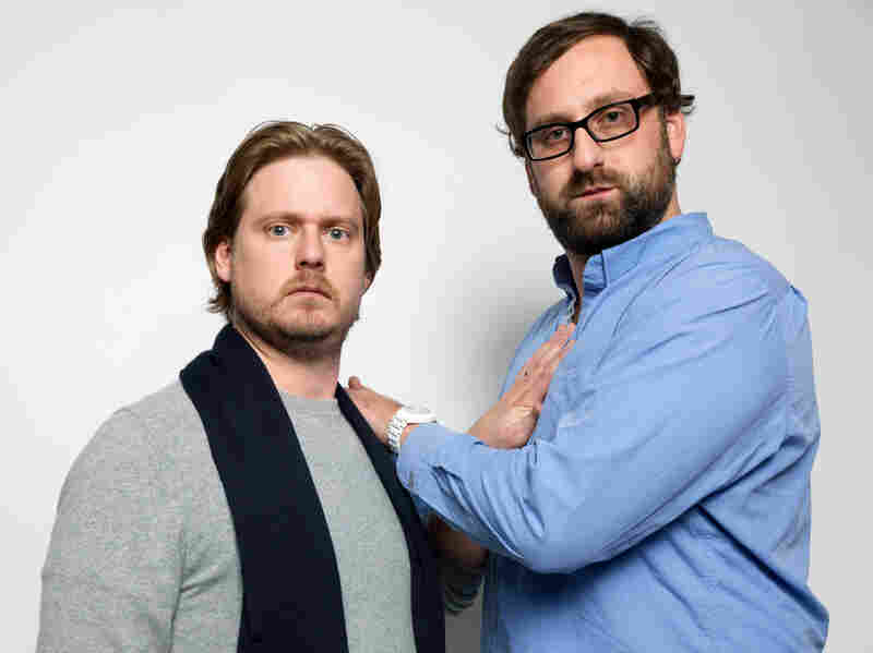 Tim Heidecker (left) and Eric Wareheim, shown promoting their film Tim and Eric's Billion Dollar Movie, have been friends for two decades.