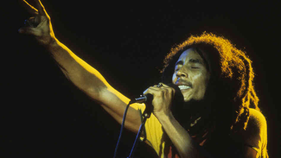 Bob Marley, seen here performing in Paris in 1980, died years before Legend was released. It has since sold millions of copies — and this week, it hit No. 5 on the Billboard chart.