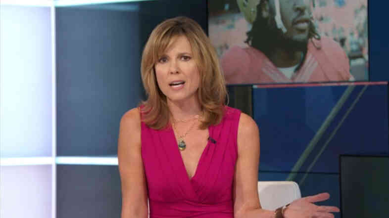 "ESPN's Hannah Storm aimed a sharply worded op-ed segment at the NFL Sunday, taking the league to task for its handling of the Ray Rice incident. She asked, ""What exactly does the NFL stand for?"""