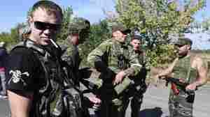 Shelling In Donetsk Rocks Cease-Fire In Ukraine
